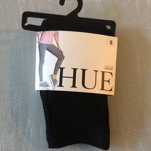NWT Hue wide rib leggings